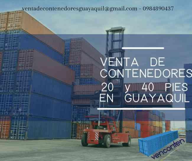 Patio De Venta De Autos Usados En Guayaquil: Venta Y Alquiler De CONTENEDORES De 20 Y 40 Pies
