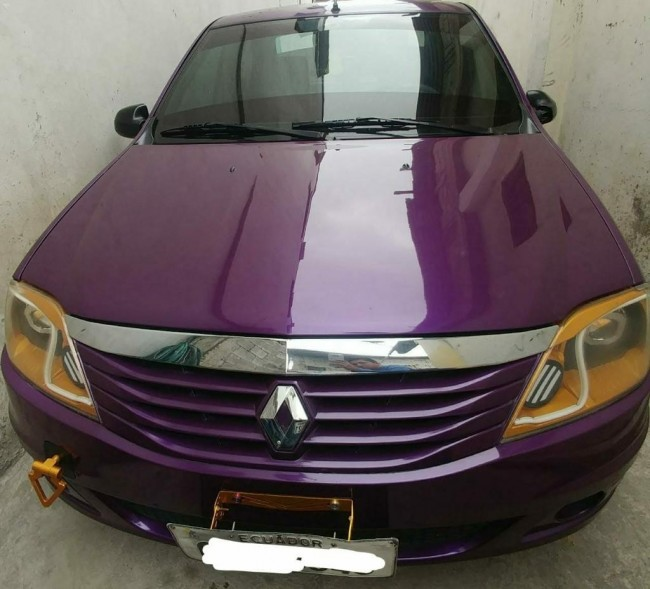 Patio De Venta De Autos Usados En Guayaquil: Renault Logan 2012 12000 Kms Cars, Guayaquil